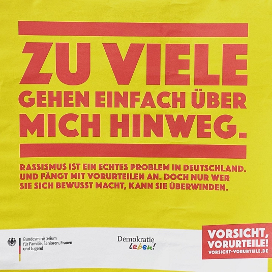 Gegen Rassismus, Hass und Ausgrenzung©Oberschule Marklohe