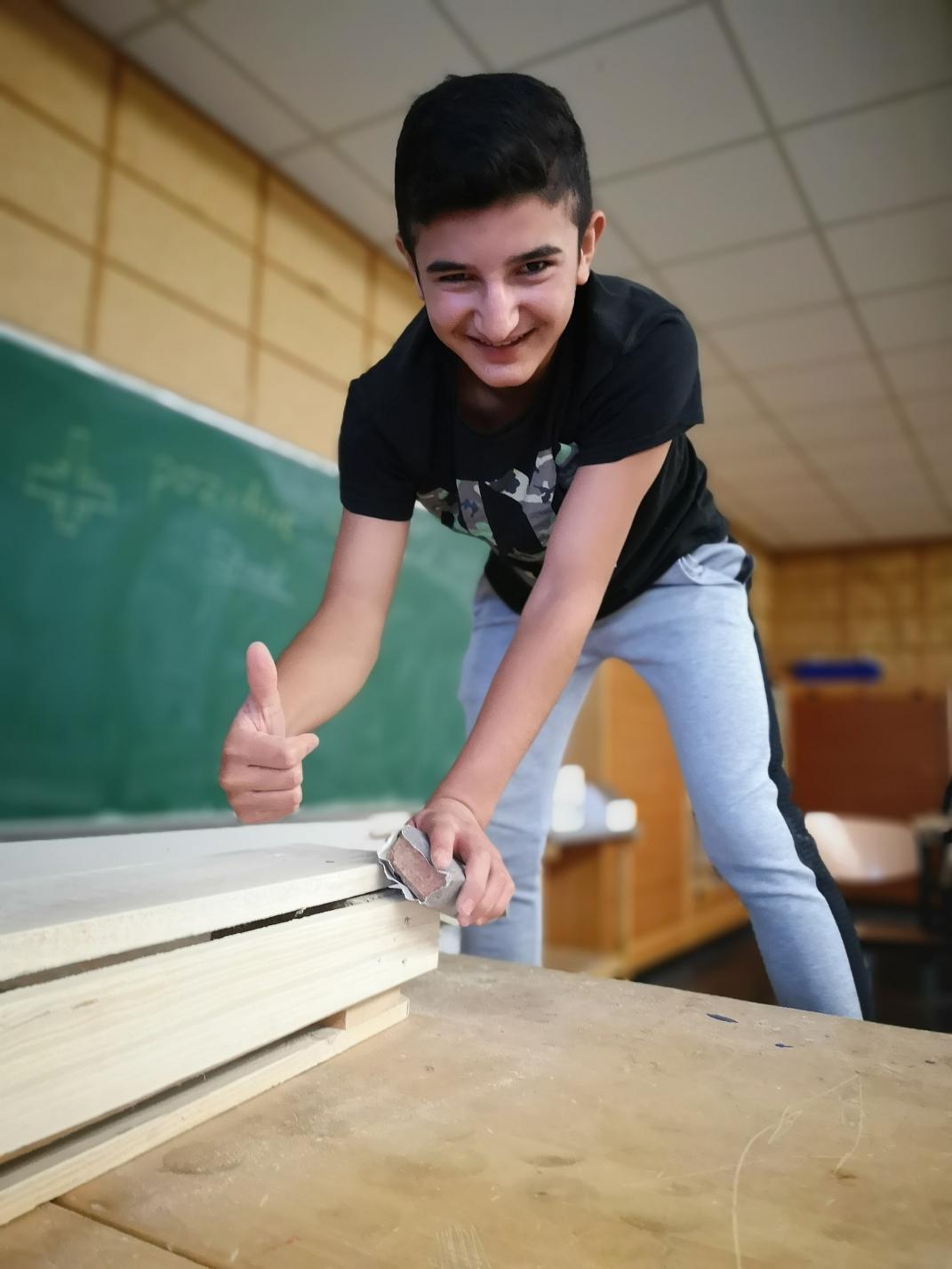OBS Holzbau - Die Fertigung©Oberschule Marklohe