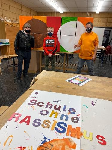 Schule ohne Rassismus- Schule mit Courage©Oberschule Marklohe